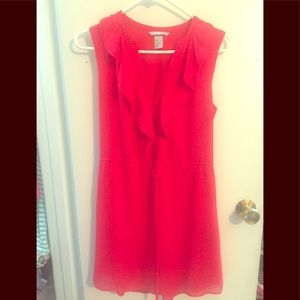 H&M red tunic